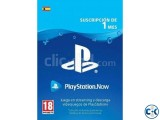 PS NOW GIFT CARD 1 MONTH