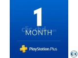 PS PLUS 1 MONTH