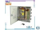 CCTV CENTRAL POWER SUPPLY 10AMP 9 port