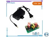 CCTV Camera Power Supply Waterproof AC DC Adapter 12V 2A