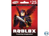 Roblox 25 Gift Card