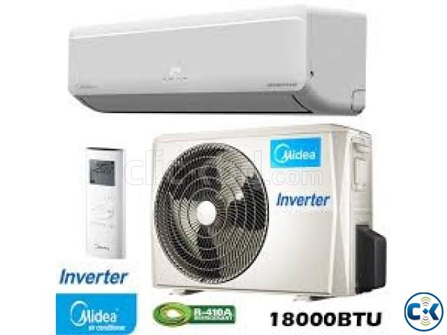 Midea 1.5 Ton Wall Type Split AC MSM-18HRI Inverter Series  | ClickBD large image 0