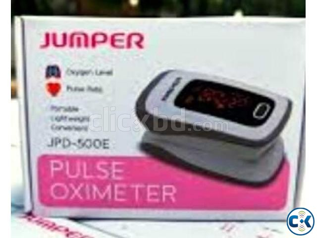 JUMPER OXIMETER intact Box with Original Battery  | ClickBD large image 0