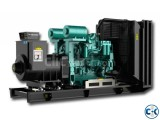 Cummins 1 MW Diesel Generator Price in Bangladesh