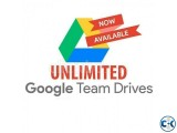 Unlimited Google Drive for your gmail account. Team Drive