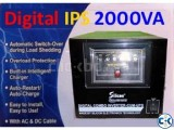 DIGITAL IPS 2000VA UNIT SILICON
