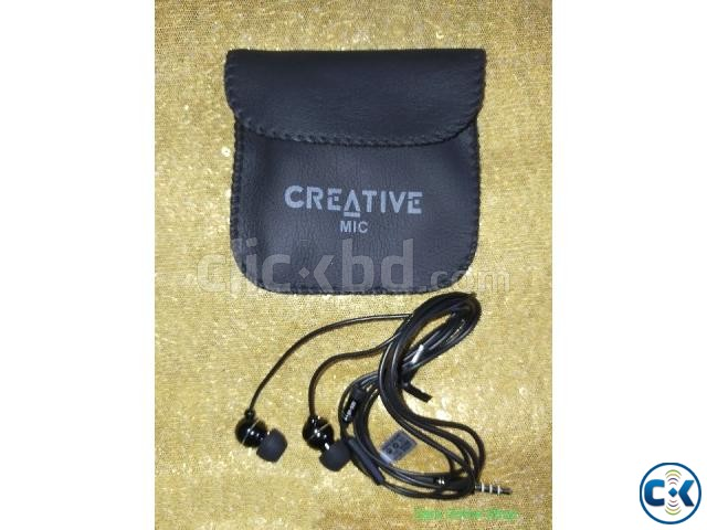 Creative Earphone With Poch EP580 | ClickBD large image 0