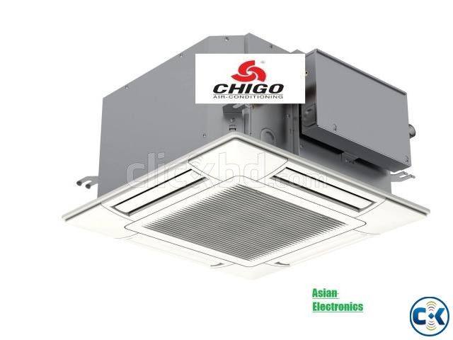 3 Ton Chigo cassete-celling type AC | ClickBD large image 1