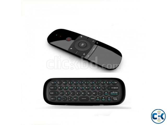 W1 Air Mouse For Smart TV With Keypad | ClickBD large image 1