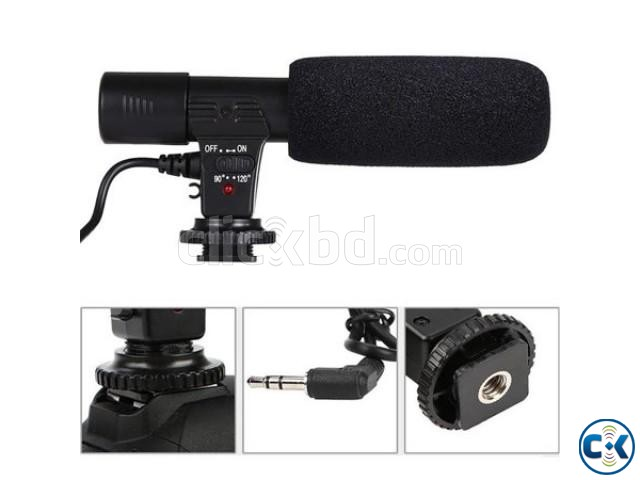 Microphone For Canon Nikon DSLR Camera DV Camcorder | ClickBD large image 0
