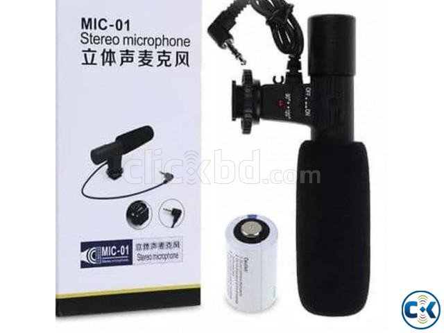 Microphone For Canon Nikon DSLR Camera DV Camcorder | ClickBD large image 2