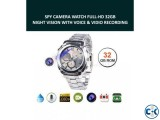 Spy Camera Watch Night Vision 32GB Video with Voice Record