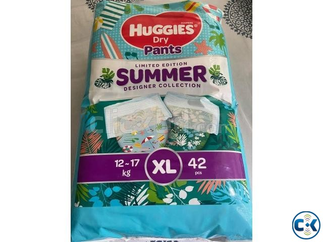 Huggies Dry Pants | ClickBD large image 2