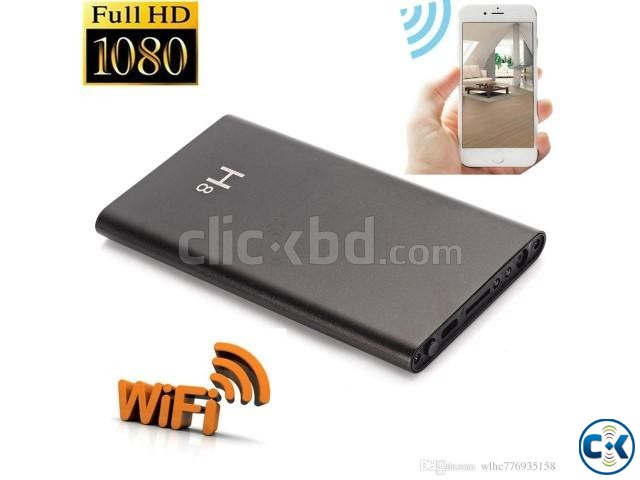 Spy camera powerbank H8 wifi full hd 1080p | ClickBD large image 0