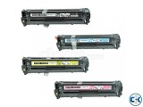 Replacment Compatible HP 128A for HP CE320A CE321A CE322A