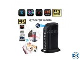 Spy Camera 4K Live Wifi IP Camera USB Wall Charger Adapter