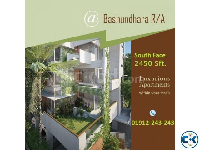 Basundhara R A 2450 Sft 4 Bed Almost Ready Falt | ClickBD large image 0