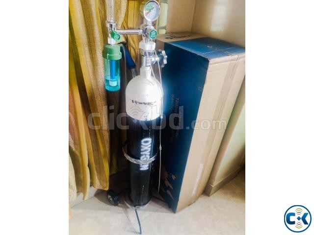 2000L Oxygen Cylinder with Carrier Others Equipment | ClickBD large image 0