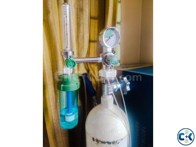2000L Oxygen Cylinder with Carrier Others Equipment | ClickBD large image 1
