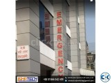 Bata Module Letter S.S Round Side Letter with LED Lighting