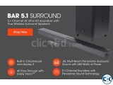 JBL Bar 5.1 4K Ultra HD 5.1-Channel Soundbar True Wireless