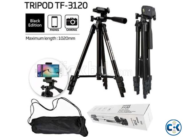 TF-3120 Portable Tripod for Mobile Camera | ClickBD large image 1