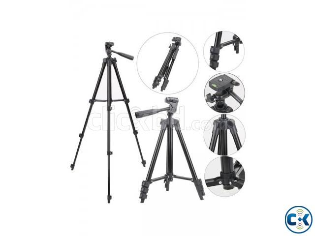 TF-3120 Portable Tripod for Mobile Camera | ClickBD large image 2