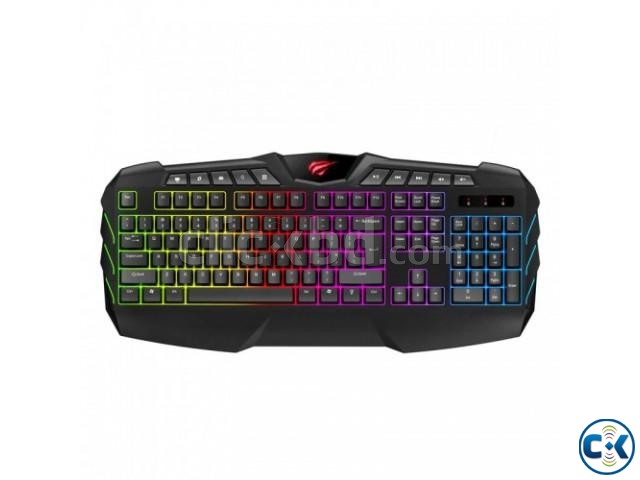 Havit KB465L Multi-function Backlit Gaming Keyboard | ClickBD large image 0