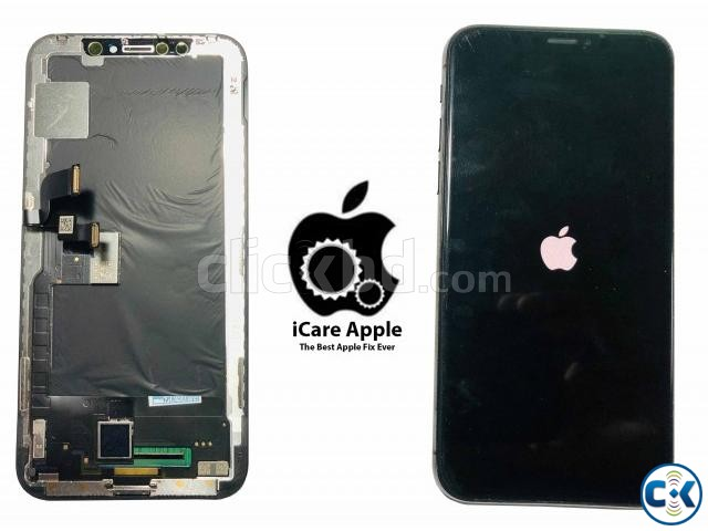 Apple iPhone X XS XS MAX Display Replacement Service dhaka | ClickBD large image 0