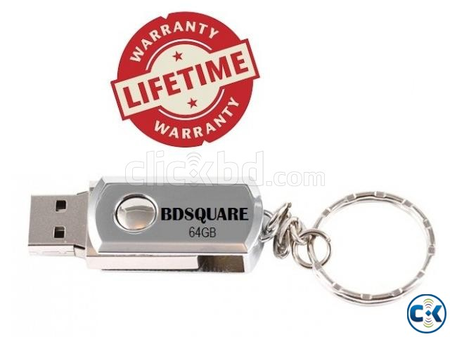 64Gb steelbody PENDRIVE | ClickBD large image 0
