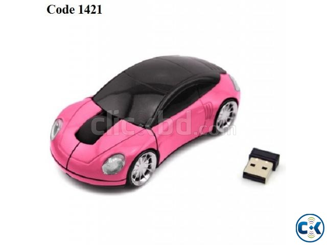Car Shape Wireless mouse | ClickBD large image 1