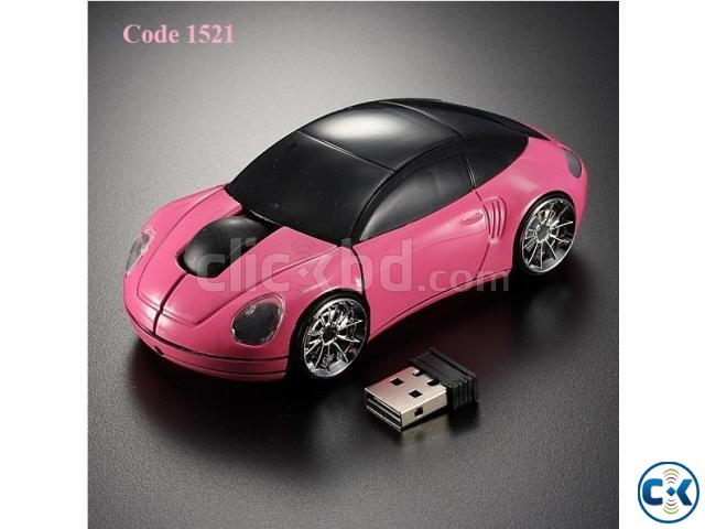 Car Shape Wireless mouse | ClickBD large image 2