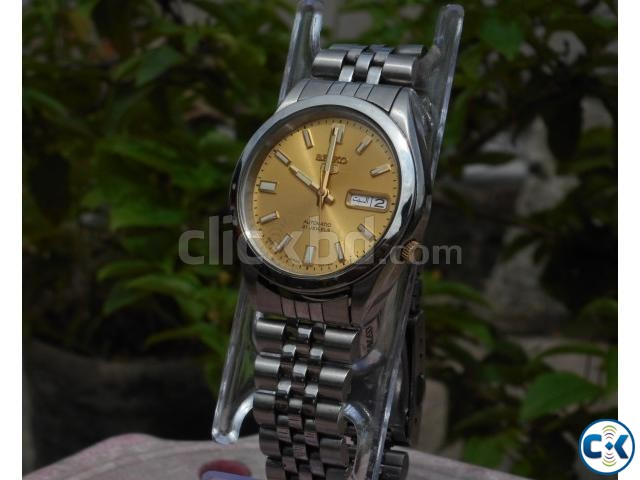 Seiko 5 Automatic 21 Jewels | ClickBD large image 0
