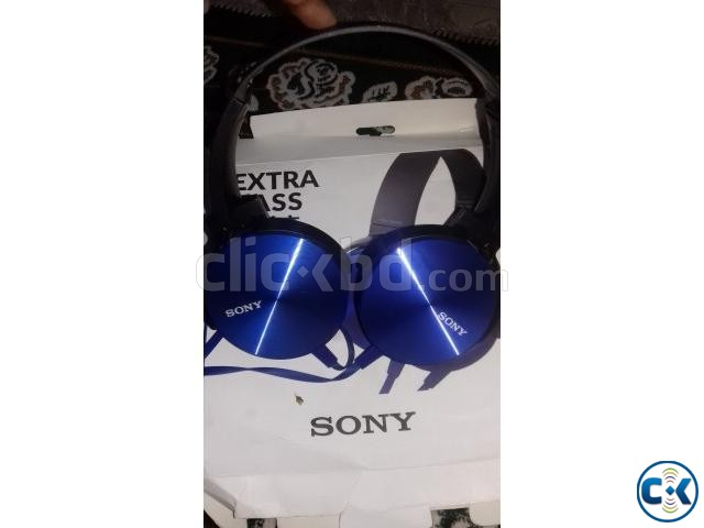 SONY MDR-XB450AP EXTRA BASS HEADPHONE | ClickBD large image 1