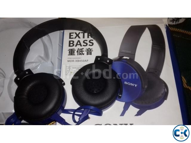 SONY MDR-XB450AP EXTRA BASS HEADPHONE | ClickBD large image 2