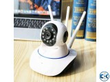 WiFi 3 Antenna IP Security Camera