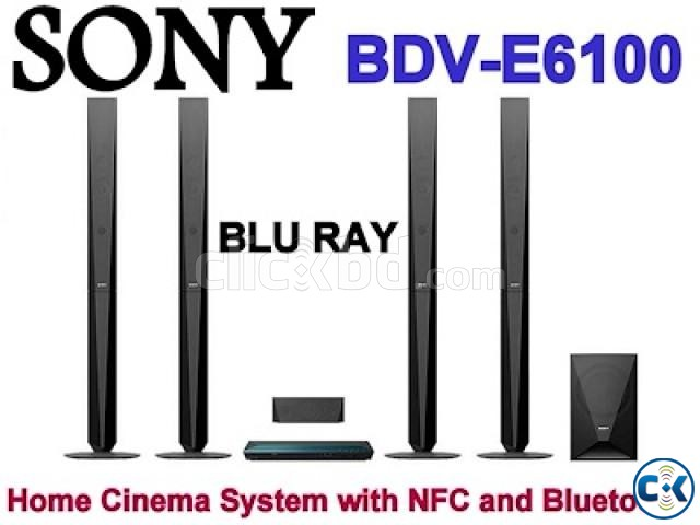 Sony BDV-E6100 5.1 Blu-ray Home Theatre System | ClickBD large image 1