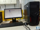 7th Gen Desktop with Dell 19 LED New Condition in Uttara
