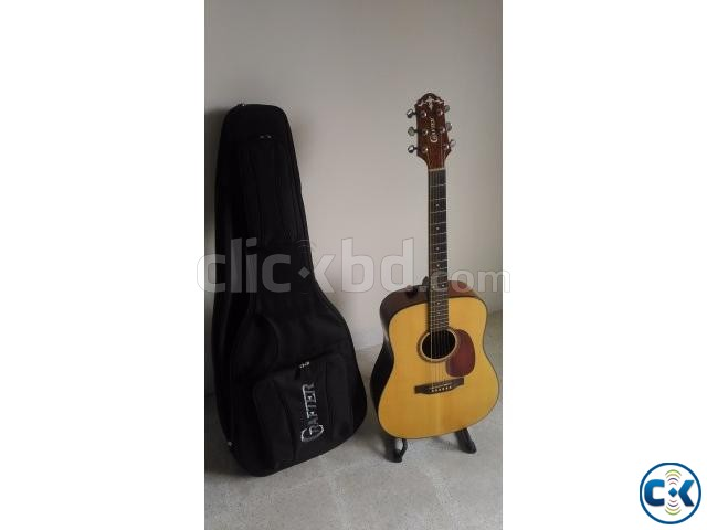 CRAFTER Acoustic Guitar with Gigbag Made in Korea  | ClickBD large image 0
