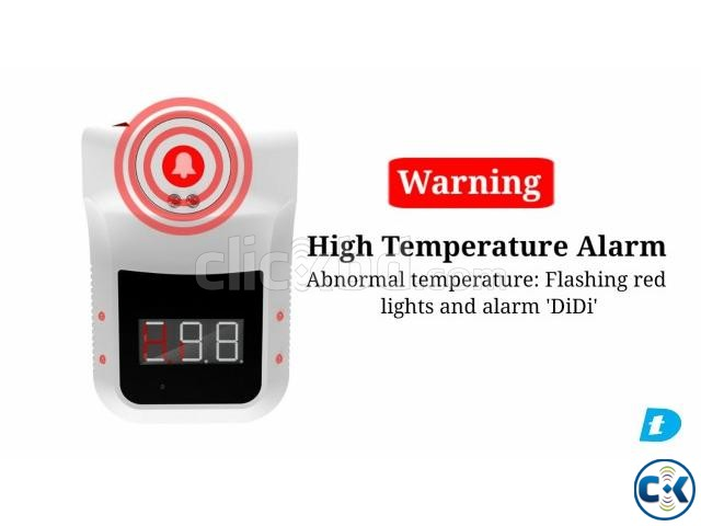 Danatek Infrared Wall Mount Forehead Thermometer | ClickBD large image 0