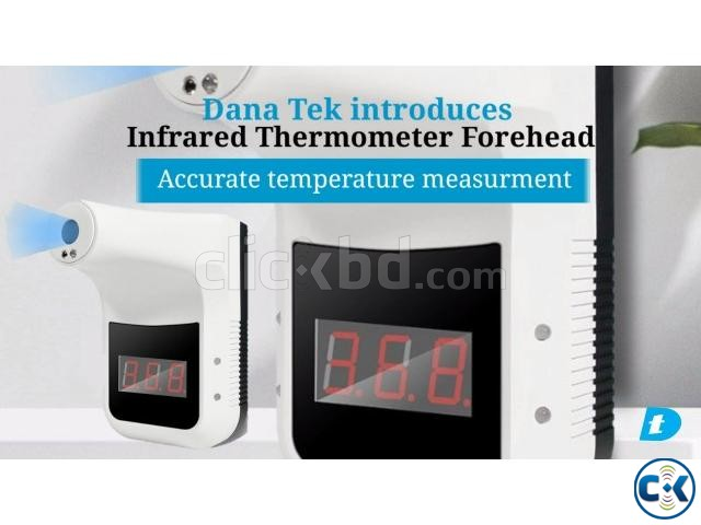 Danatek Infrared Wall Mount Forehead Thermometer | ClickBD large image 4