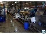 Industrial washing plant.