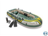 Intex Seahawk 3 Inflatable Air Boat 3 Person