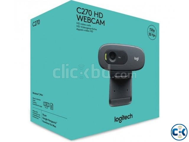 Logitech Chennel Product C270 HD Webcam | ClickBD large image 1