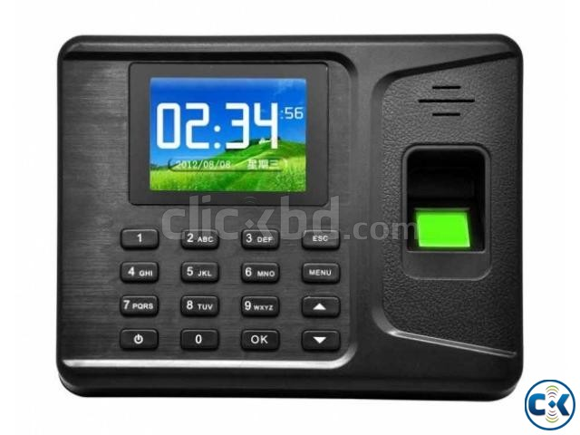 Fingerprint RFID card time attendance system | ClickBD large image 0