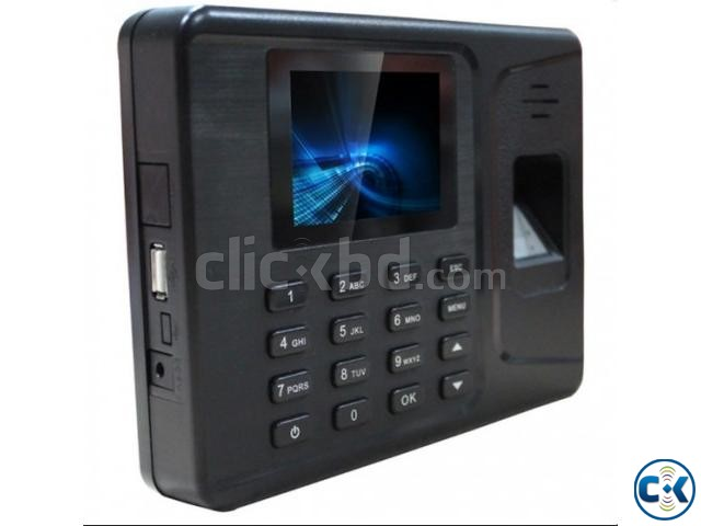 Fingerprint RFID card time attendance system | ClickBD large image 1