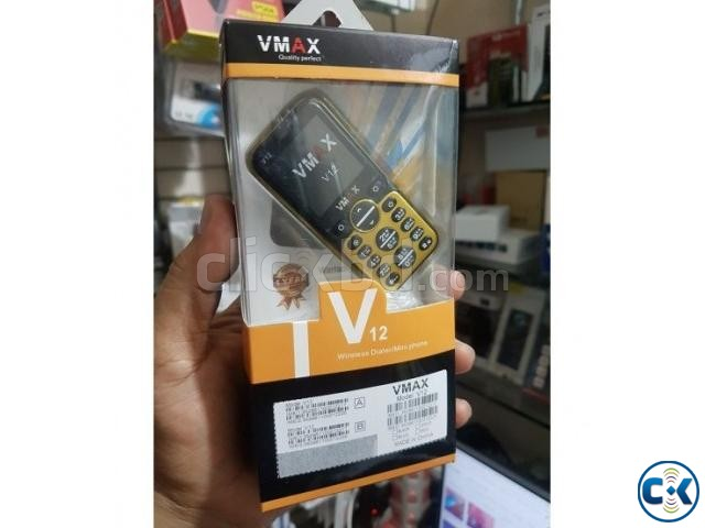 VMAX V12 Super Mini Dual Sim card Phone | ClickBD large image 2
