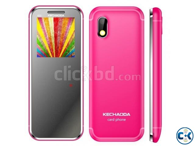 KECHAODA K33 SLIM CARD PHONE. | ClickBD large image 0