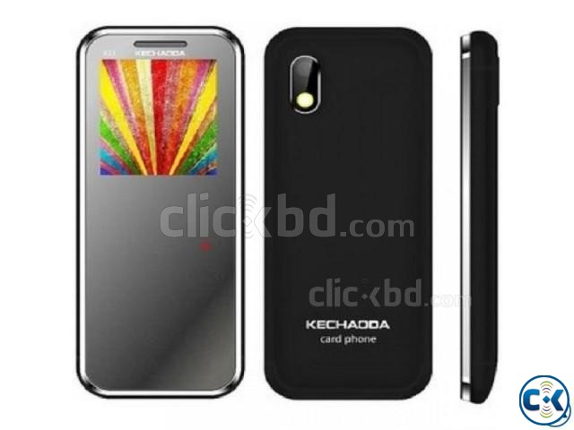 KECHAODA K33 SLIM CARD PHONE. | ClickBD large image 1