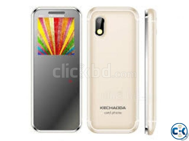 KECHAODA K33 SLIM CARD PHONE. | ClickBD large image 2